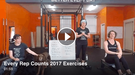 Every Rep Counts, April 22