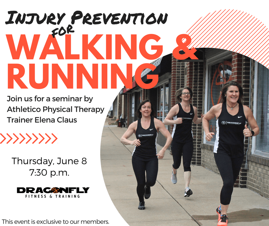 Injury Prevention for Walking & Running, June 8