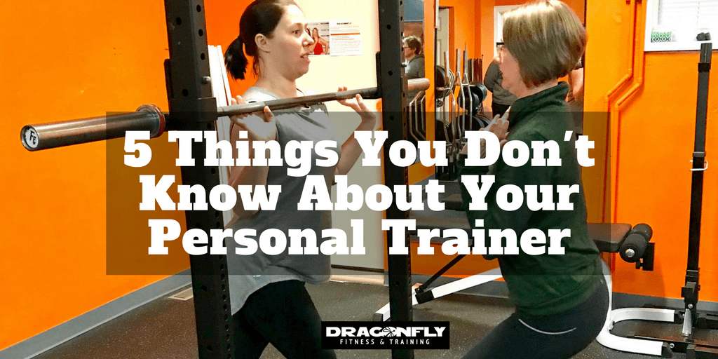 5 Things You Don't Know About Your Personal Trainer